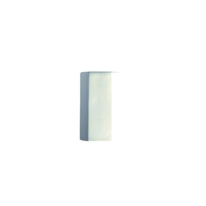 Ambiance Navarro Sand LED Cylindrical Outdoor Wall Sconce with Closed Top
