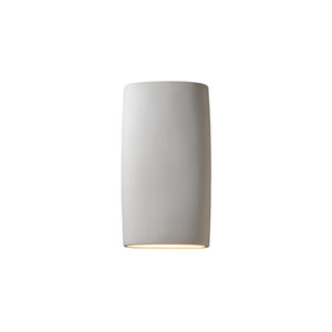 Ambiance Bisque 4-Inch LED Big Cylindrical Wall Sconce with Opened Top and Bottom