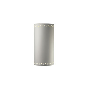 Sun Dagger Bisque LED Extra Large Cylindrical Wall Sconce