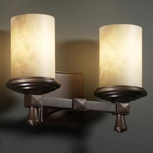 Deco Two-Light Wall Sconce