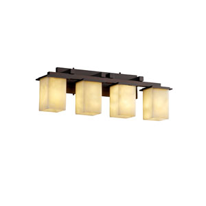 Clouds Montana Four-Light Dark Bronze Bath Fixture