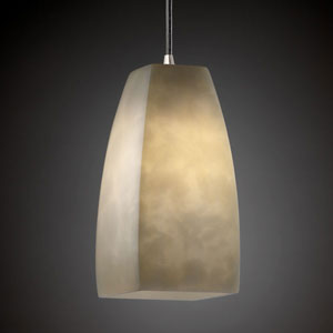 Clouds Modular Brushed Nickel Mini Pendant