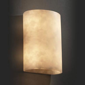 One-Light Small Cylinder 2000 Lumen LED Wall Sconce