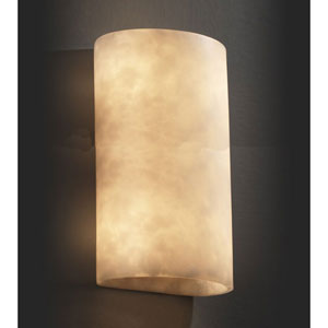 Clouds Two-Light Really Big Cylinder 2000 Lumen LED Wall Sconce