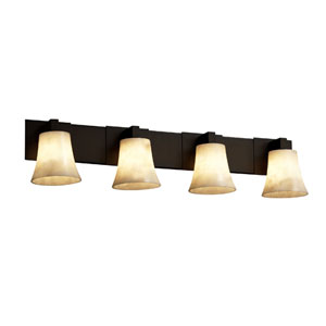Clouds Modular Four-Light Dark Bronze Bath Fixture