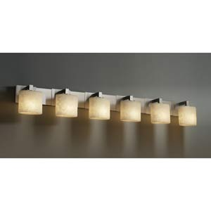 Modular Six-Light Bath Bar