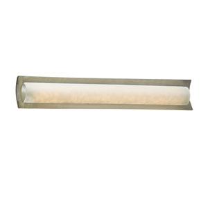 Clouds Brushed Nickel 30-Inch LED Bath Bar