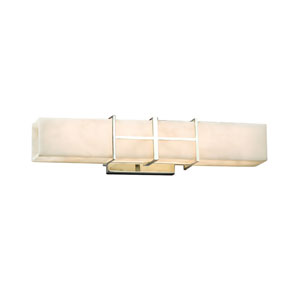 Clouds  Polished Chrome 21.5-Inch LED Bath Bar