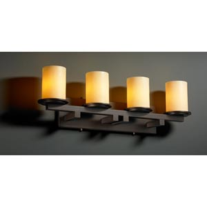 CandleAria Dakota Four-Light Straight Bath Fixture
