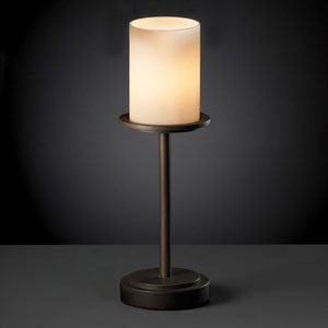 CandleAria Dakota Dark Bronze Tall Table Lamp