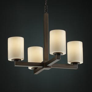 CandleAria Modular Four-Light Chandelier