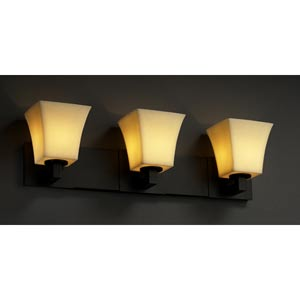CandleAria Modular Three-Light Bath Fixture