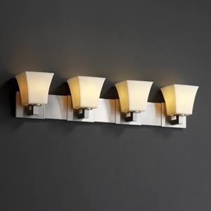 CandleAria Modular Four-Light Bath Fixture