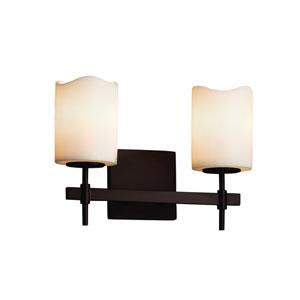 CandleAria Dark Bronze 13-Inch LED Bath Bar