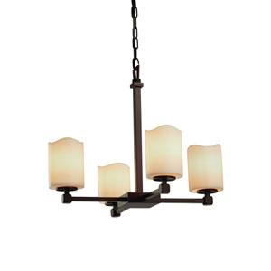 CandleAria Dark Bronze 21-Inch LED Chandelier