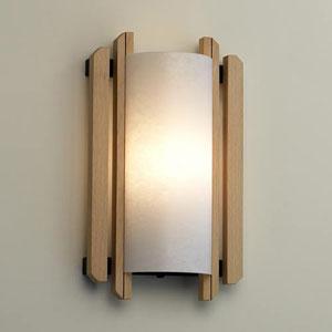 Domus Trommel Beech Wood 1000 Lumen LED Sconce