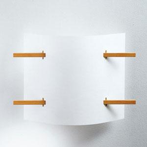 Domus Folio Beech Wood 2000 Lumen LED Sconce