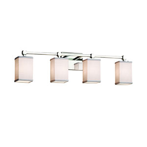 Textile  Polished Chrome 31-Inch LED Bath Bar
