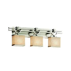 Textile Brushed Nickel 29-Inch LED Bath Bar