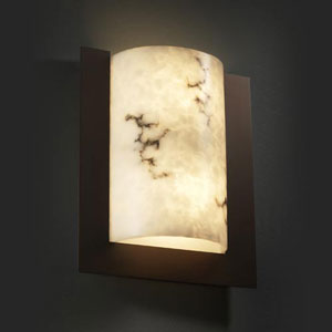 LumenAria Framed Rectangle Three-Sided 2000 Lumen LED Sconce