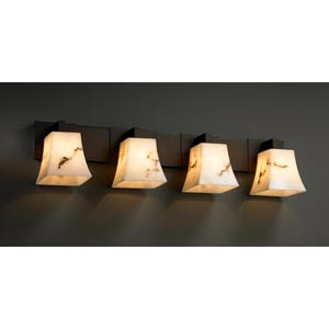 LumenAria Modular Four-Light Bath Fixture