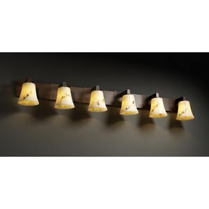 LumenAria Modular Six-Light Bath Fixture