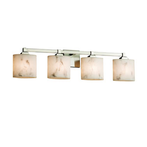 LumenAria Brushed Nickel 33.5-Inch LED Bath Bar