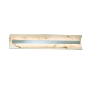 LumenAria Brushed Nickel 29-Inch LED Bath Bar