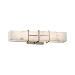 LumenAria Brushed Nickel 21.5-Inch LED Bath Bar