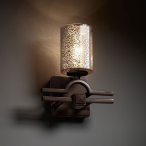Fusion Argyle Matte Black Wall Sconce