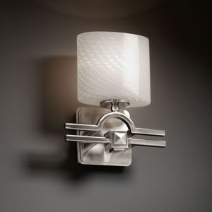 Fusion Argyle Brushed Nickel Wall Sconce