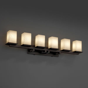 Fusion Montana Six-Light Dark Bronze Bath Fixture
