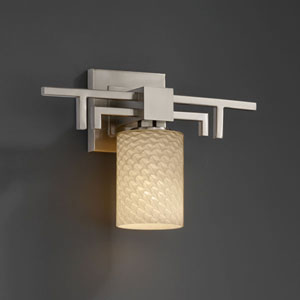 Fusion Aero Brushed Nickel Wall Sconce