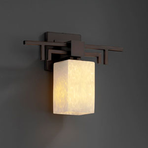 Fusion Aero Dark Bronze Wall Sconce
