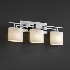 Fusion Aero Three-Light Bath Fixture