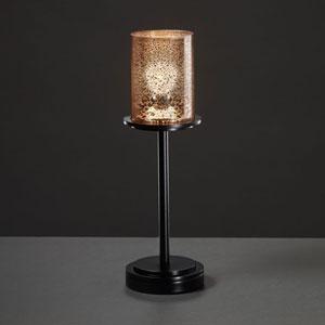 Fusion Dakota Matte Black Tall Table Lamp