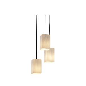 Fusion Modular Three-Light Dark Bronze Cluster Mini Pendant