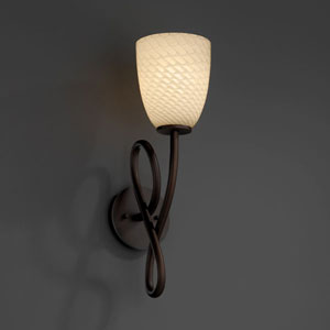 Fusion Capellini Dark Bronze Wall Sconce
