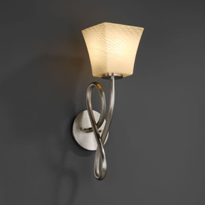Fusion Capellini Brushed Nickel Wall Sconce