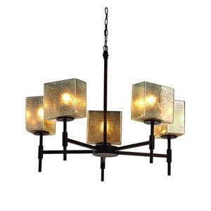 Fusion Dark Bronze 23-Inch LED Chandelier