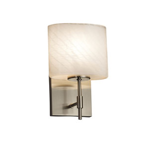 Fusion Brushed Nickel 6.5-Inch LED Wall Sconce