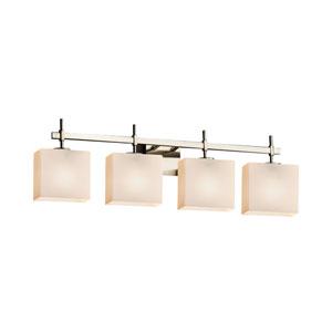 Fusion Brushed Nickel 32.5-Inch LED Bath Bar