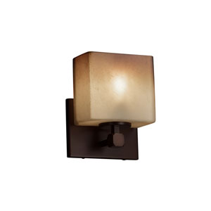 Fusion Dark Bronze 6-Inch LED Wall Sconce