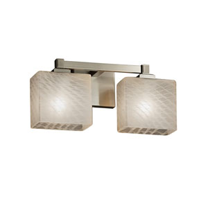 Fusion Brushed Nickel 14.5-Inch LED Bath Bar