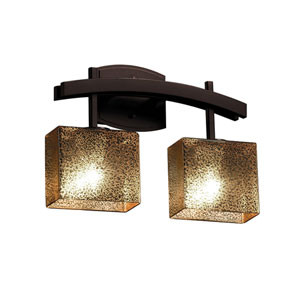 Fusion Dark Bronze 15.5-Inch LED Bath Bar