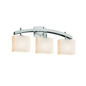 Fusion Brushed Nickel 25.5-Inch LED Bath Bar