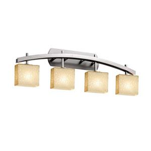 Fusion Brushed Nickel 35.5-Inch LED Bath Bar