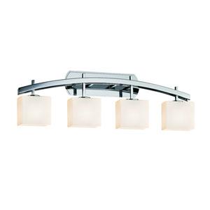 Fusion  Polished Chrome 35.5-Inch LED Bath Bar