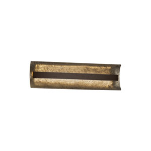 Fusion Dark Bronze 21-Inch LED Bath Bar