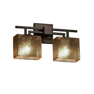 Fusion Dark Bronze 16-Inch LED Bath Bar
